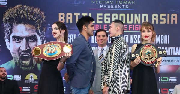 With not one, but two titles on the line, Vijender Singh gets ready for Zulpikar's challenge