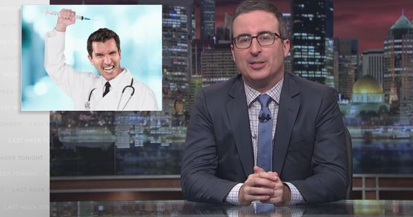 Watch: John Oliver is not happy about the anti-vaccine movement