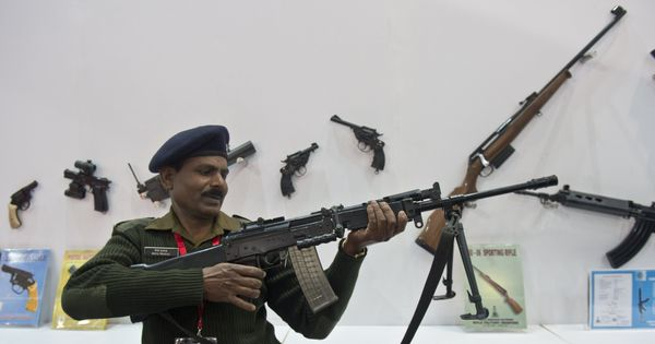 A rifle for fighting, not for fun: India must give more thought to the foot soldier and his weapon