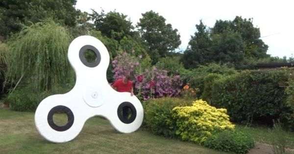 Watch: This might be the world's largest fidget spinner. Why should you care?