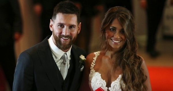 Lionel Messi's 'wedding of the century' with childhood sweetheart captures Argentina's imagination