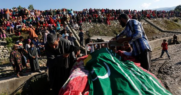 'We are all mujahideen,' say villagers in South Kashmir a day after encounter leaves four dead