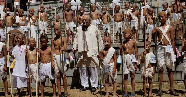 Today's heroes: Natwarbhai, the 85-year-old Gandhi of Nagaland, was once declared 'anti-national'