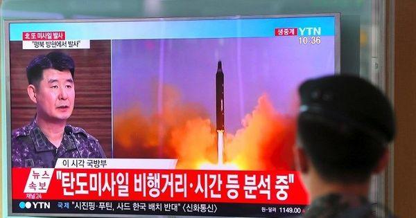 उत्तर कोरिया ने महीने भर में दूसरी बार आईसीबीएम दागी, कहा - पूरा अमेरिका हमारी जद में