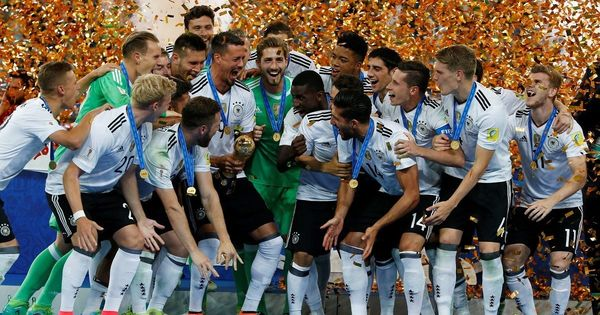 Germany reclaim top spot in Fifa rankings after Confederations Cup win