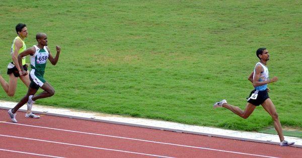 Ajay Kumar Saroj is gunning for Bahadur Prasad's 1995 national record in the 1500m after Odisha win