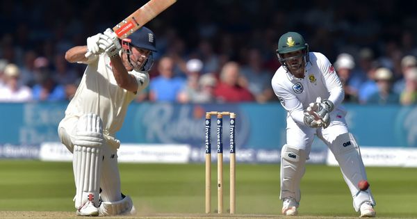Alastair Cook helps England punish depleted South Africa on Day 3 of first Test