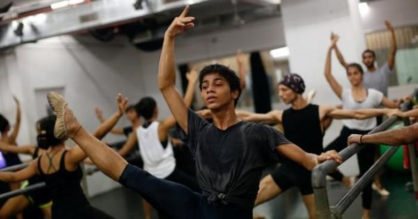 Watch: A welder's son from Mumbai leaps into top ballet school