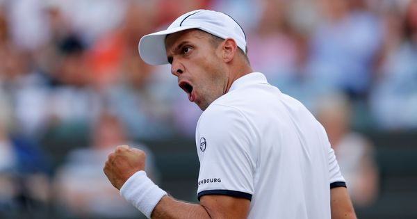 Wimbledon: In his quarter-final clash, Gilles Muller also has the 'Rafa curse' to tackle
