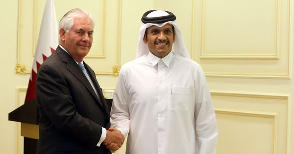 United States and Qatar sign deal to crack down on terror financing
