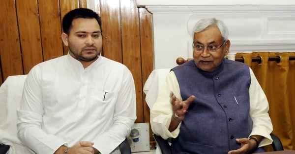 बिहार : तेजस्वी यादव को राम और नीतीश कुमार को रावण बताने वाले पोस्टर से विवाद
