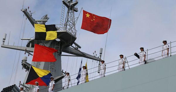 China ships troops to its first overseas military base in Djibouti