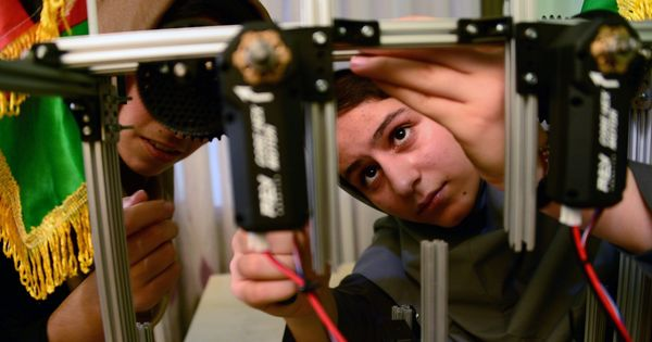 US grants visas to Afghan girls for robotics competition after President Donald Trump intervenes