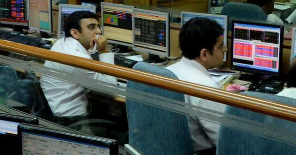 Sensex, Nifty plunge amid investor concerns over government finances, retail inflation data