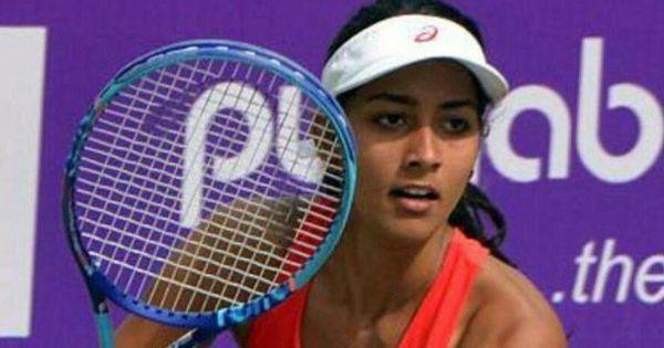 Karman Kaur Thandi and Rutuja Bhosale enter quarters of Women's Tennis championships