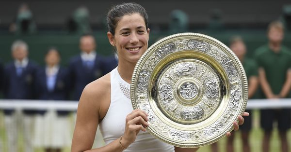 Only one to beat Serena and Venus in Major finals: Twitter celebrates Muguruza's Wimbledon win