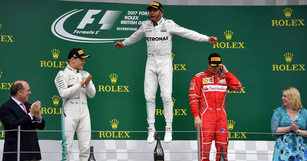 Formula One: Lewis Hamilton wins fourth consecutive British Grand Prix