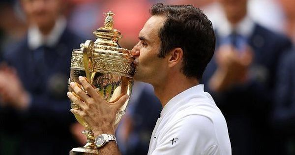 '#19 tastes great,' says Roger Federer as Twitter joins in with the Swiss' Wimbledon celebrations