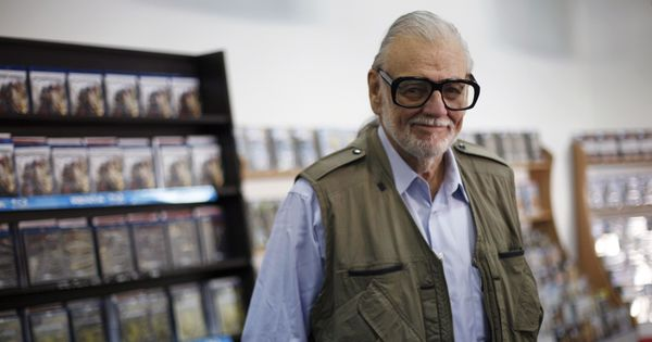 'Night of the Living Dead' director George Romero dies at 77 in New York