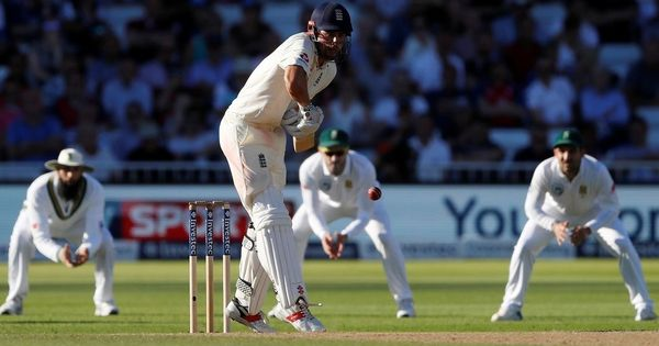 Hashim Amla, Dean Elgar's fifties help South Africa set mammoth 474-run target for England on Day 3
