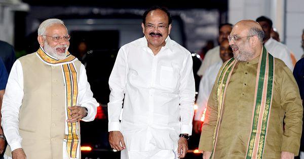वेंकैया नायडू के न चाहने पर भी भाजपा ने उन्हें ही उपराष्ट्रपति बनाने का फैसला क्यों किया?