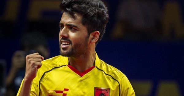 Sanil Shetty stars in Falcons TTC's rout of Oilmax-Stag Yoddhas, top Ultimate Table Tennis table