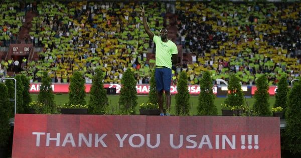One last sprint: Usain Bolt to run 100 metres and 4x100 metres at World Athletics Championships