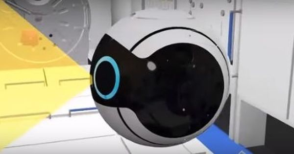 Watch: This cute mini camera drone can capture photos floating in zero gravity at space station