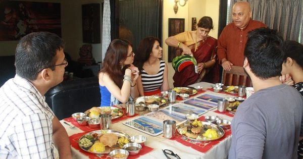 To give travellers authentic Indian tastes, one startup is inviting them over to locals' homes