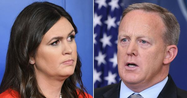 Sarah Sanders takes over as White House press secretary after Sean Spicer resigns