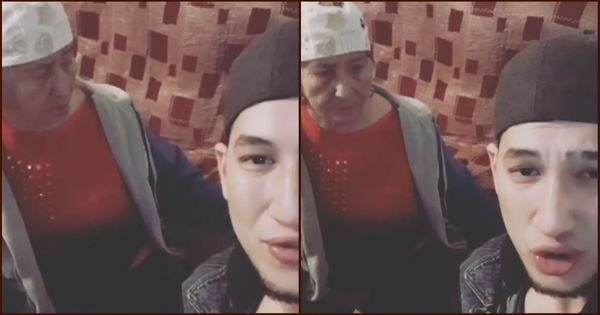 Watch: This 78-year-old Kazakh woman who raps with her grandson is a runaway hit on Instagram