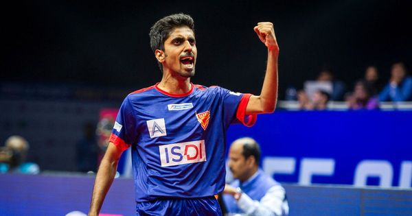 Dabang Smashers edge out Oilmax-Stag Yoddhas to book semi-final spot in Ultimate Table Tennis