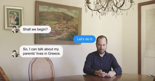 Watch: A man made a chat-bot of his dying father to preserve his memories