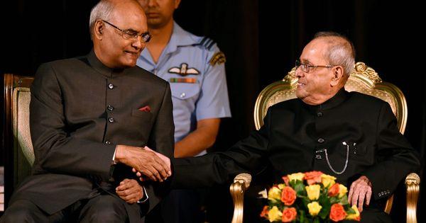 रामनाथ कोविंद देश के 14वें राष्ट्रपति बने