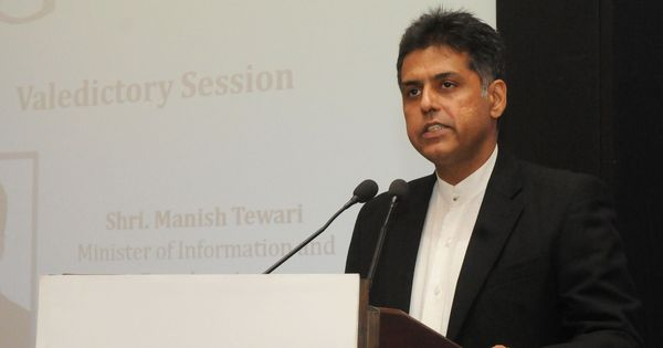 Manish Tewari uses swear words in tweet to Modi supporter, BJP says Congress has lost mental balance