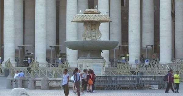 Watch: Why the Vatican has turned off all its historic fountains