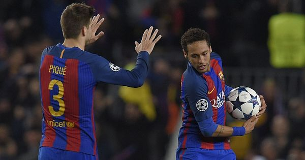 Sorry PSG, Neymar is staying with Barcelona, says Gerard Pique