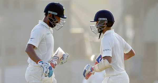 SL v India, 1st Test, Day 2 Live: Pujara, Rahane look to continue Herath's misery