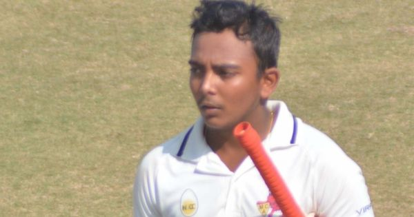 Ranji Trophy round-up: Prithvi Shaw smashes his fifth first class century, Pant finds form