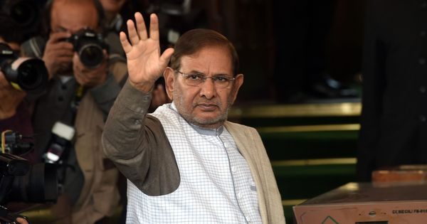 Janata Dal (United) rebel leader Sharad Yadav's faction forms new political outfit