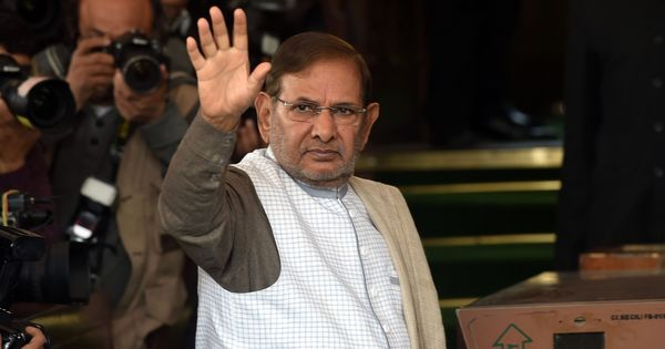 Sharad Yadav expresses regret for body-shaming remark about Rajasthan CM Vasundhara Raje
