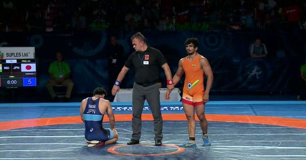 World Junior Wrestling Championships: Veer Dev Gulia takes bronze in 74 kg freestyle