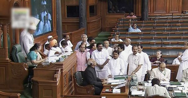 The big news: Congress protests in Parliament after I-T raids on minister, and 9 other top stories