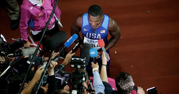I guess they booed me because I have become such a rival for Bolt: Justin Gatlin