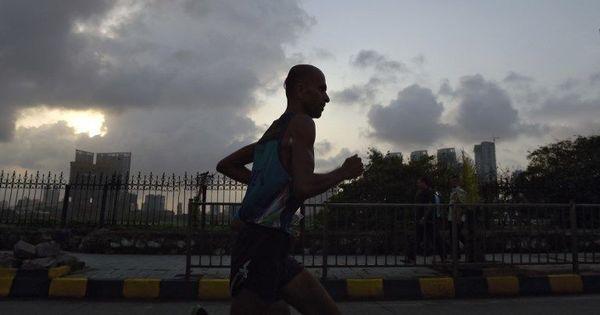 'Faith Runner' Samir Singh falls 36 kilometres short of 10,000 target in 100 days
