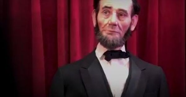 Watch: Walt Disney World's realistic robot of Lincoln is both freaky and brilliant