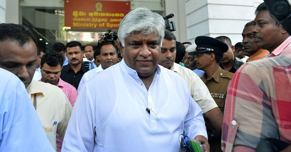 'No point blaming the cricketers': Ranatunga trains his guns on the chief of Sri Lanka Cricket