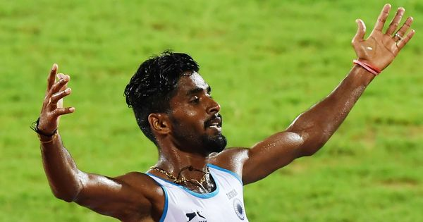 Govindan Lakshmanan wins 5000m gold at Athletics Nationals