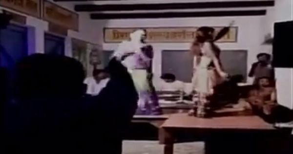 Caught on camera: Village heads in Mirzapur, UP turn a primary school classroom into a dance bar