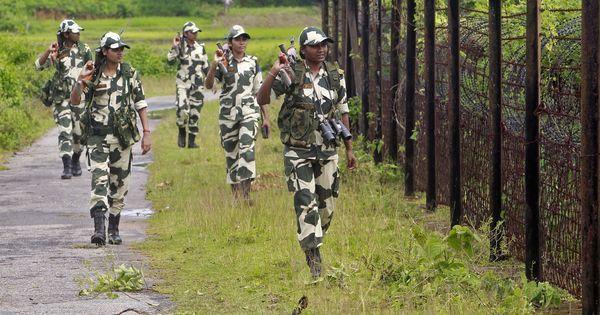 अमृतसर से लगती भारत-पाकिस्तान सीमा पर बीएसएफ ने दो पाकिस्तानी घुसपैठिए मार गिराए